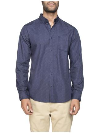 Long Sleeve Broken Stripe Shirt