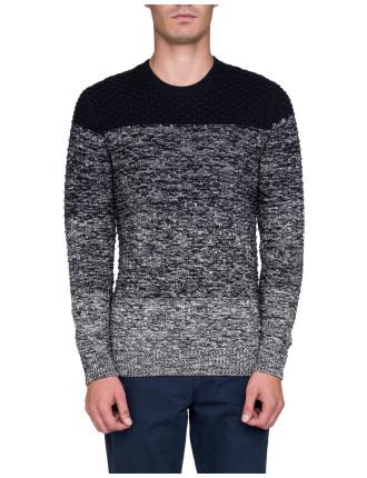 Textured Wool Blend Jumper