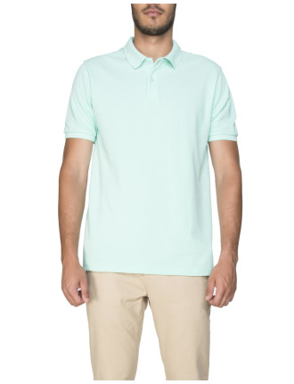 Textured UV Golf Shirt