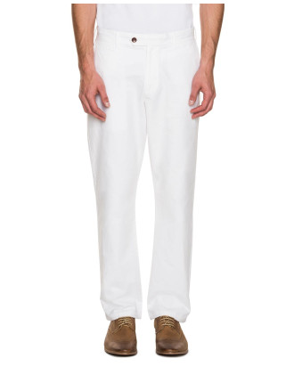 Textured Cotton Chinos