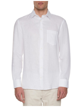 Lux Linen White Shirt