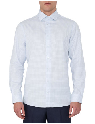 Mini Grid Formal Shirt