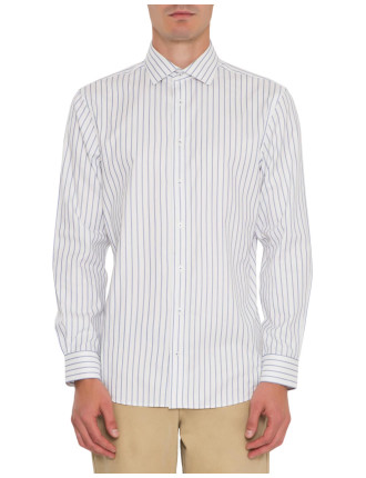 Bold Stripe Formal Lux Shirt