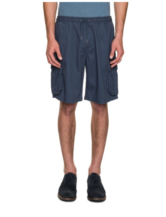 Elasticised Cargo Shorts