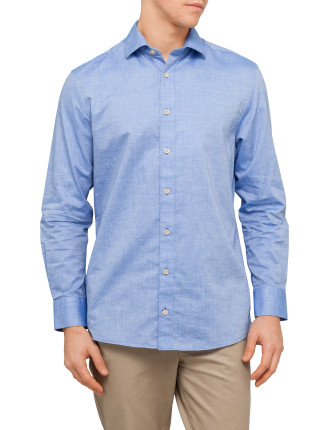 Textured Cotton Shirt