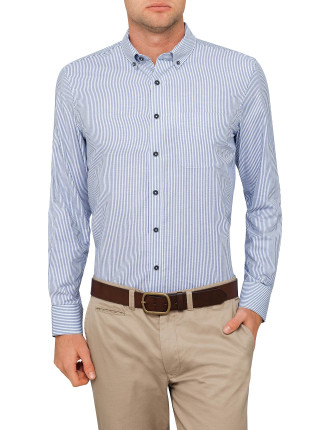 Striped Textured Shirt