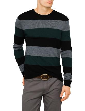 Merino Block Stripe