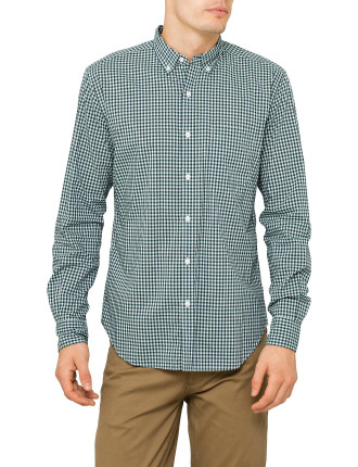 Tonal Gingham Shirt