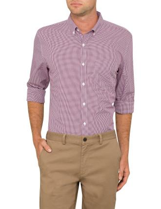 Casual Micro Check Shirt