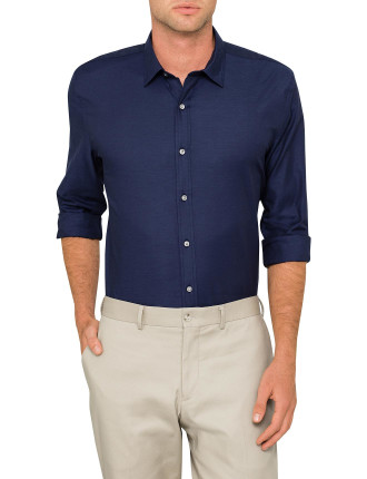 Smart Indigo Twill Shirt