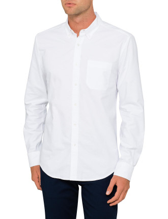 Casual Plain Ox Shirt