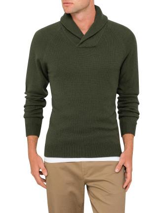Shawl Neck Pullover