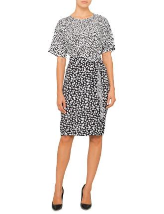 Speckle Print Dress