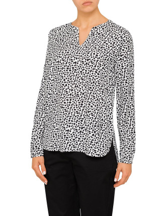 Speckle Vented Top