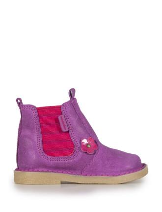 Flower Chelsea Boot