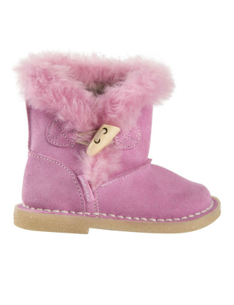 Leather Sherpa Boots