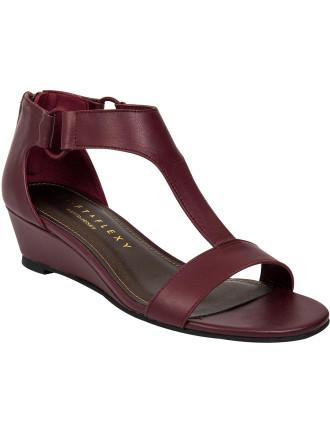 T Bar Wedge Sandal