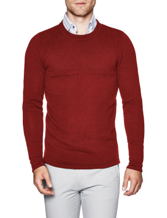 Hudson Cotton Blend Crew Knit