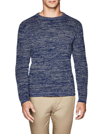 Ethann Cotton Blend Crew Knit