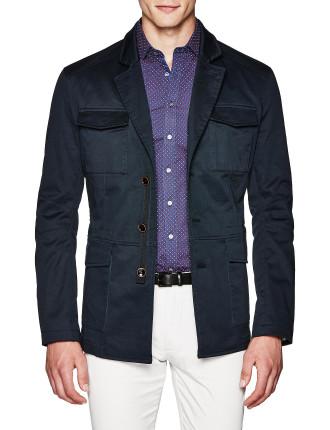 Dyson Cotton Blend Pea Coat