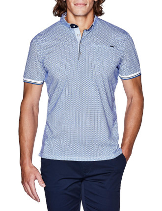 Zared Print Polo Shirt