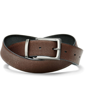 Franc Reversible Leather Pin Buckle Belt