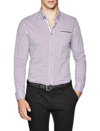 Newell Slim Fit Check Shirt