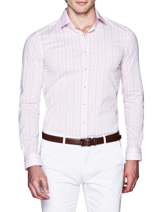 Bromley Slim Fit Check Shirt