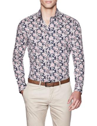 Randall Slim Fit Floral Shirt
