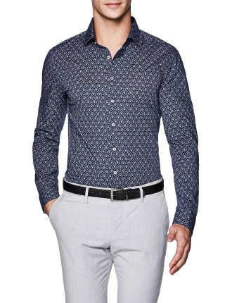 Coady Slim Fit Geoprint Shirt