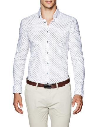 Johnson Slim Fit Geoprint Shirt
