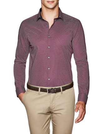 Gunner Slim Fit Geoprint Shirt