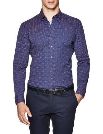 Fitch Slim Fit Geoprint Shirt