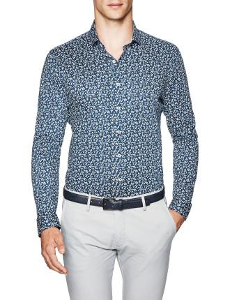 Abram Slim Fit Floral Shirt