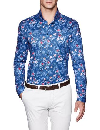 Payton Slim Fit Floral Shirt
