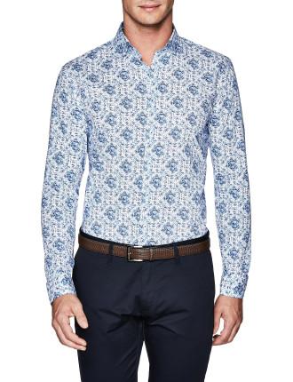 Marsh Slim Fit Floral Shirt