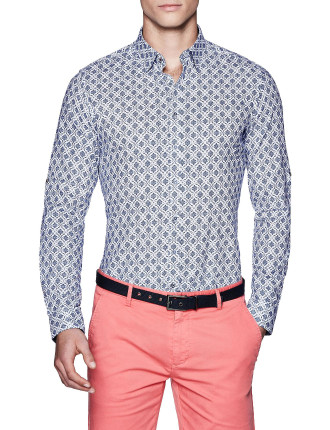 Alfie Slim Fit Floral Shirt
