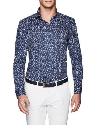 Kolt Slim Fit Floral Shirt
