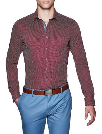 Peyton Slim Fit Geoprint Shirt