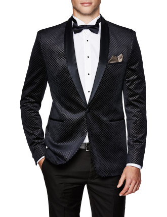 Riccardo Slim Tailored Velvet Jacket