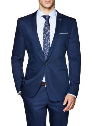 Jet Setter Slim Tailored Suit Jacket