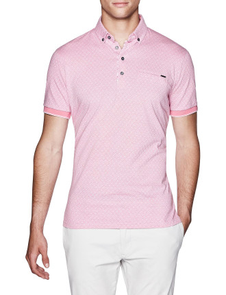 Adley Print Polo Shirt