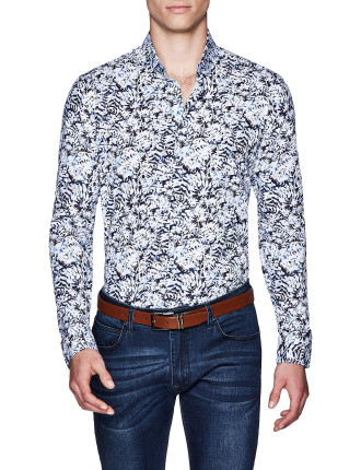 PETE SLIM FIT FLORAL SHIRT