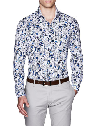 MASSEY SLIM FIT FLORAL SHIRT