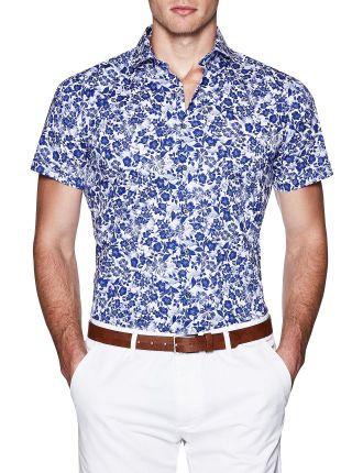 Addo Short Sleeve Floral Shirt