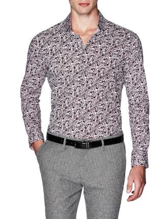 Jair Slim Fit Floral Shirt