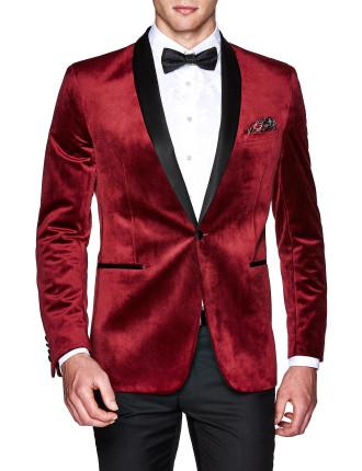 Sorren Slim Tailored Velvet Jacket