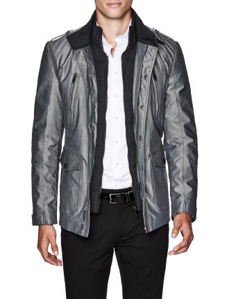 Mordechai Cotton Blend Military Jacket