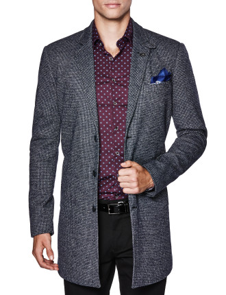 Ralphie Wool Blend Trench Jacket