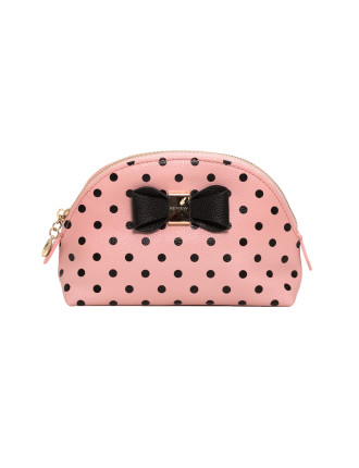 Peppy Bow Cosmetic Case